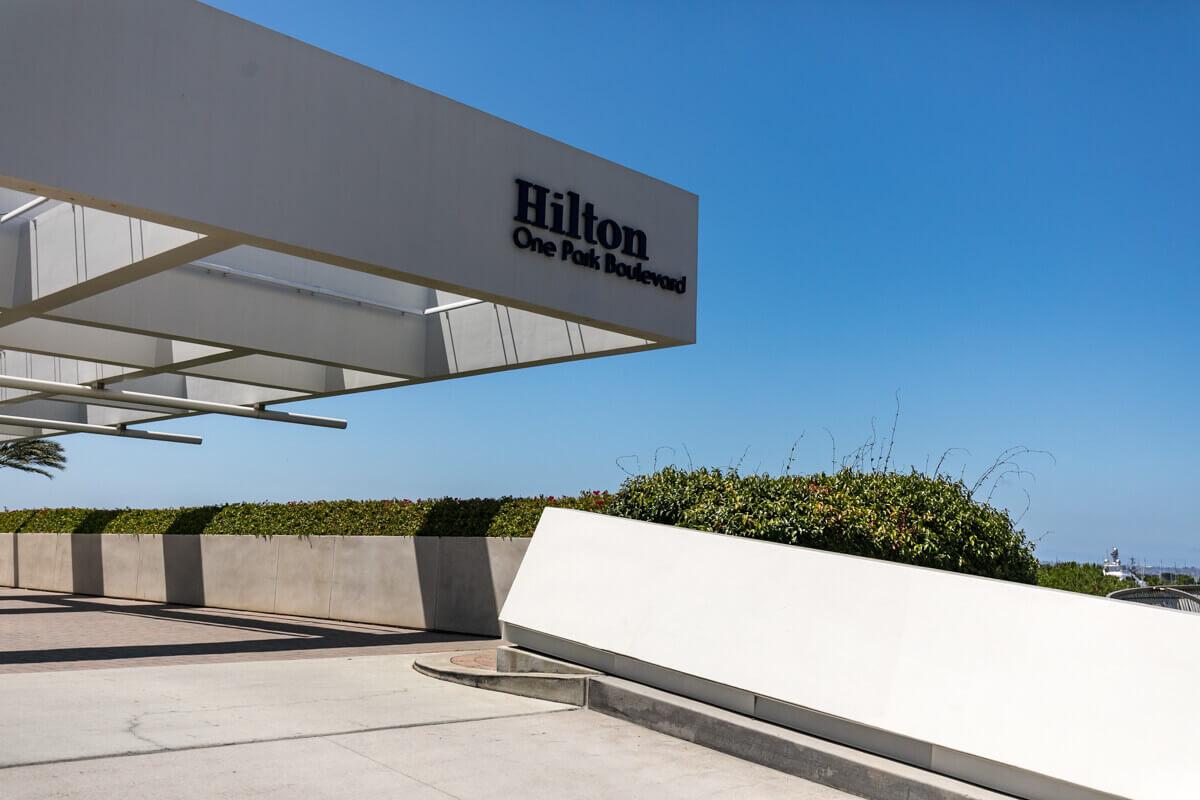 Enteriőr fotózás, Hilton hotel fotózás