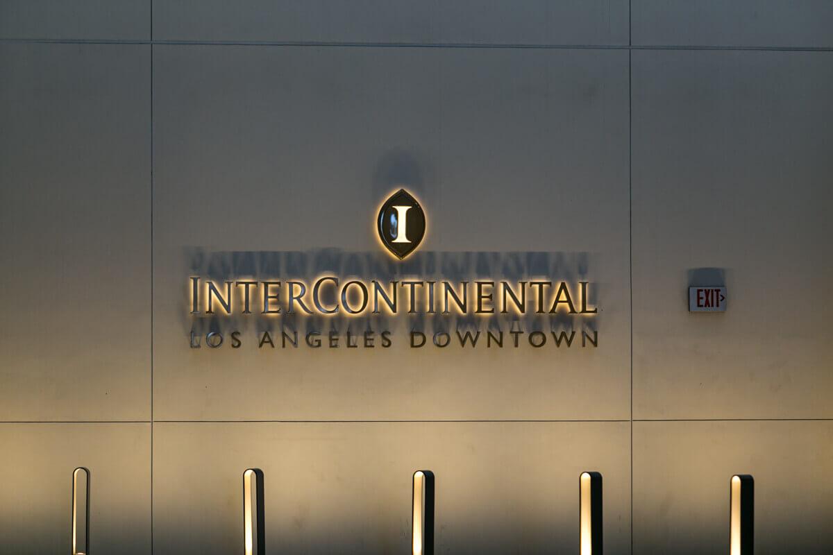 Enteriőr fotózás, Intercontinental hotel fotózás