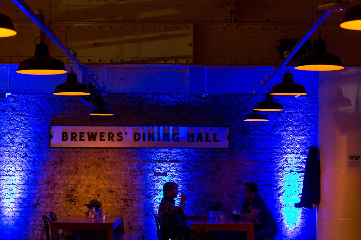 Rendezvényfotózás során készült kép a Brewers Dining Hallban.