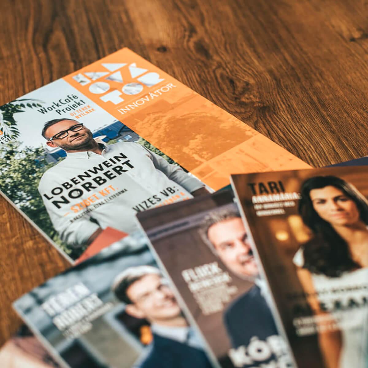 Innovátor Magazin - Címlap fotózás